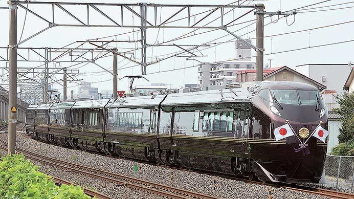 令和初 E655系のお召列車