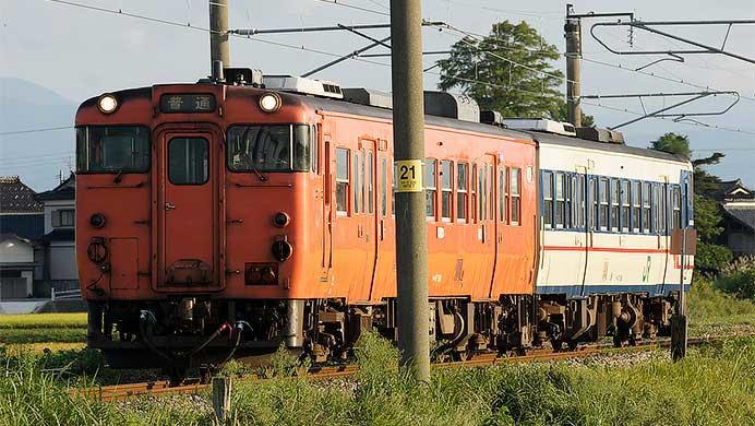 JR東日本 置換え迫る新潟地区のキハ40
