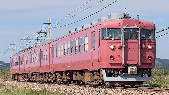 最後の「急行形電車」クハ455形700番台