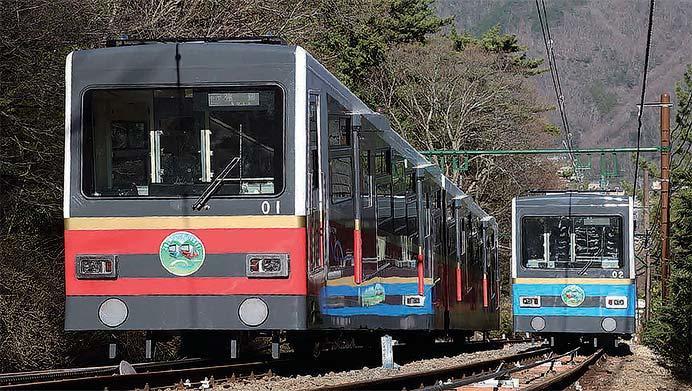箱根登山鉄道五代目鋼索線用車両