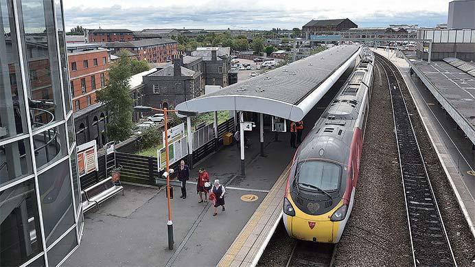バーミンガムへの3本の鉄路