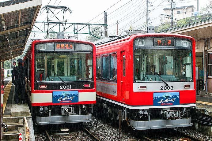 箱根登山鉄道のカラーバリエーション2020
