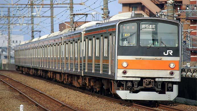 引退が迫る武蔵野線用205系