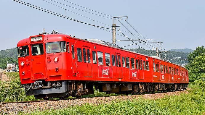 しなの鉄道115系「特別塗装編成」