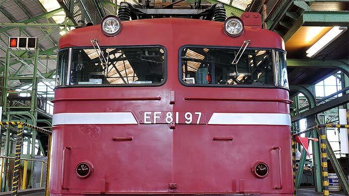 JR東日本 田端運転所 EF81 97号機 台車検査の記録