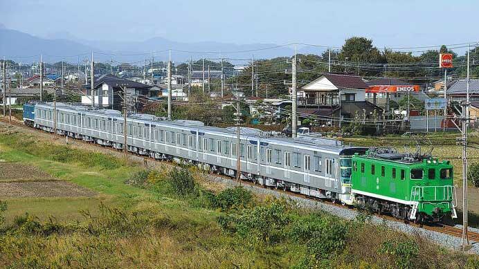秩父鉄道三ヶ尻線甲種輸送終了に寄せて