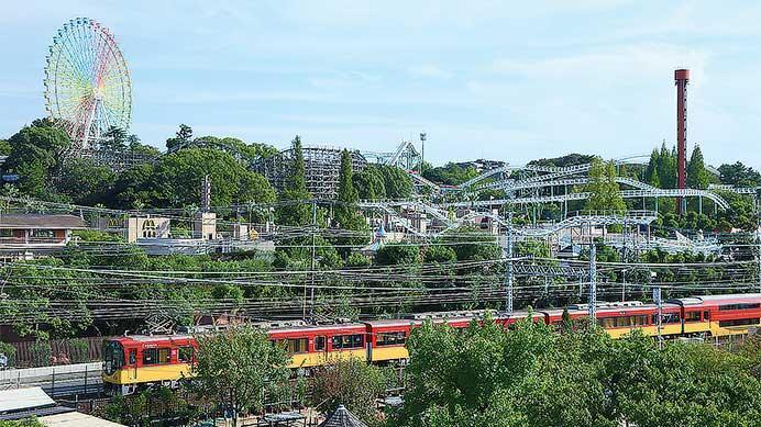 鉄道と遊園地