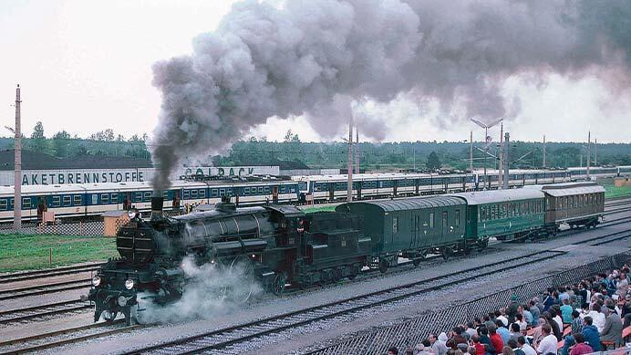 """オーストリア鉄道150周年と「EC」""""レハール"""""""