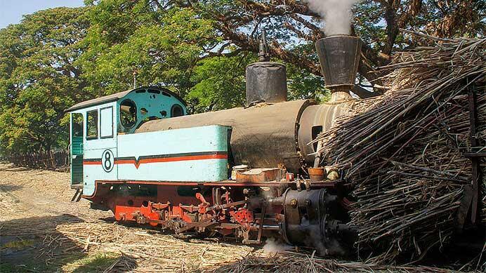 インドネシアの無火蒸気機関車