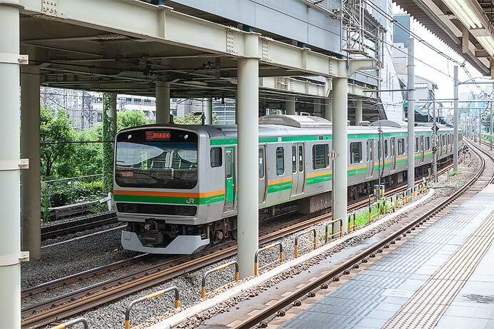 かつての渋谷駅