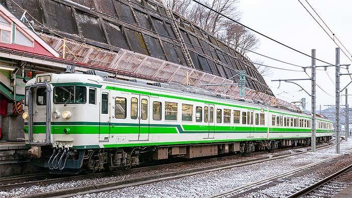 JR東日本新潟支社,115系「二次新潟色」「弥彦色」を復刻