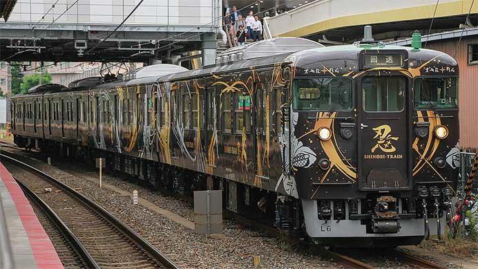 113系L6編成が「SHINOBI-TRAIN」が出場