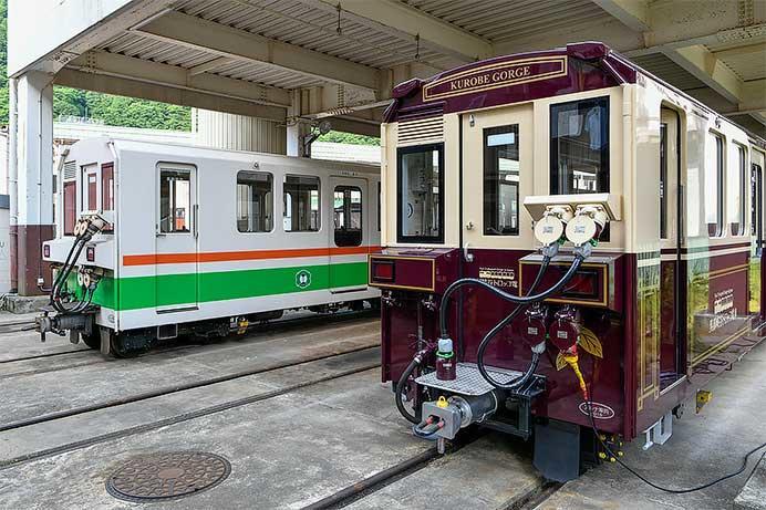 黒部峡谷鉄道,3100形増備車が営業運転を開始