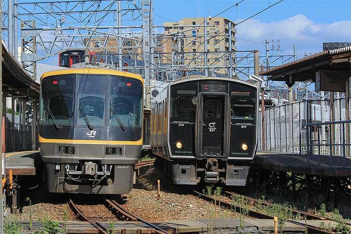 キヤ141系が筑豊本線・鹿児島本線を検測