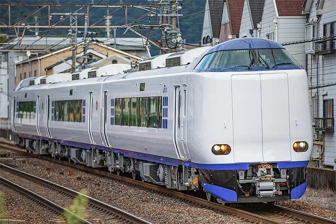 271系HA651編成が東海道本線で試運転