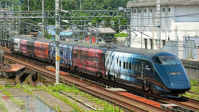 E3系700番台「現美新幹線」の運転再開